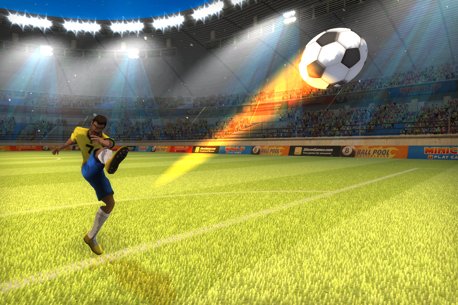 Enjoy Watching Soccer From Different Aspect